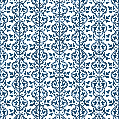 Rrnorman_vines___smooth___lonely_angel_blue_and_white___peacoquette_designs___copyright_2015_shop_preview