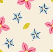 04196990 : S43C bi-floral border