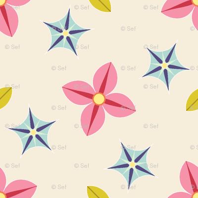 04196993 : S43C bi-floral : scattered