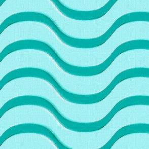 Waves of Aqua
