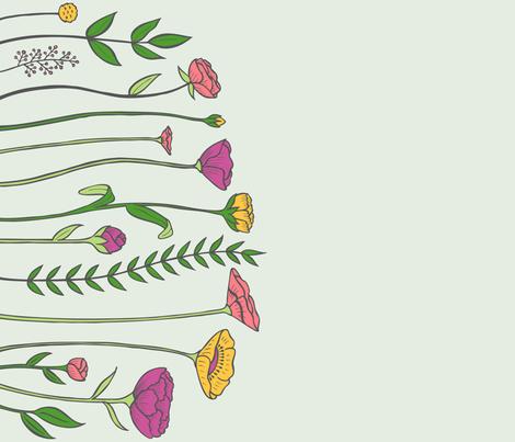 Flower Garden fabric by jaymehennel on Spoonflower - custom fabric