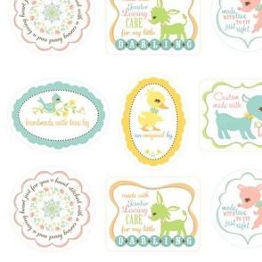 My Deer My Darling Sewing Labels