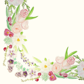 floral_water_color_fabric_square