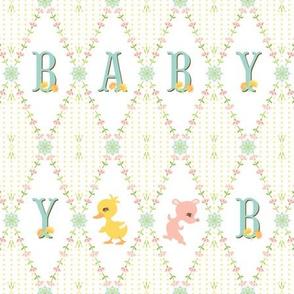 My Deer My Darling Baby: Yellow