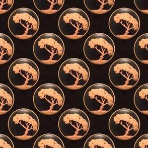 Grandad's Carved Tree Plate Medallion