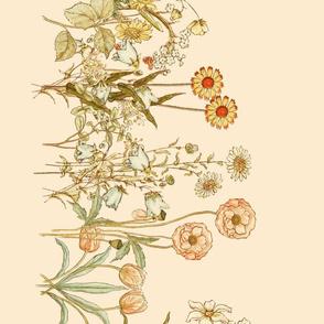 Kate_Greenaway_Flower_Border