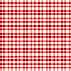 Tiny pepper pink gingham