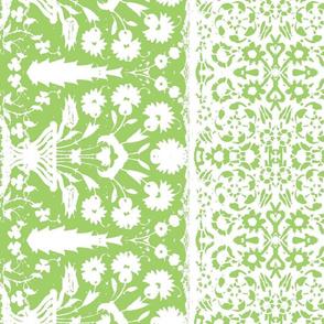 bosporus_tiles green white silk crepe de chine-ed-ch