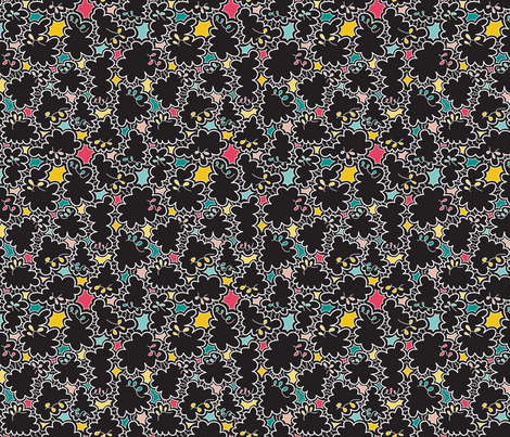 Scribble (Elementary) fabric by brendazapotosky on Spoonflower - custom fabric