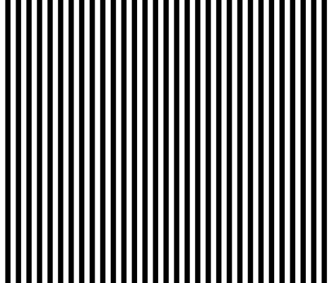 stripes vertical black fabric by misstiina on Spoonflower - custom fabric