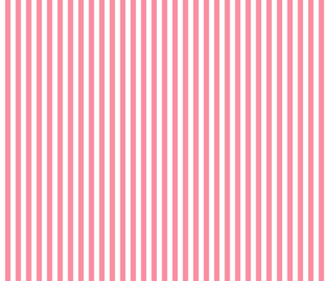 stripes vertical pretty pink fabric by misstiina on Spoonflower - custom fabric