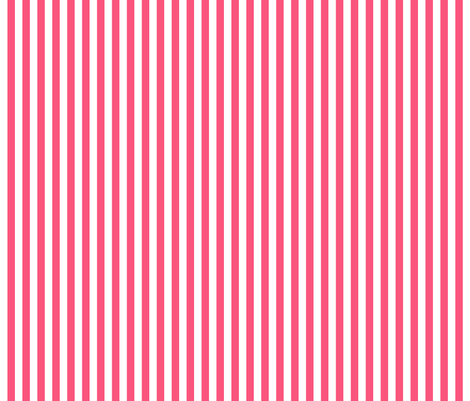 stripes vertical hot pink fabric by misstiina on Spoonflower - custom fabric