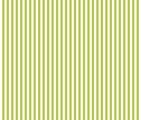 stripes vertical lime green fabric by misstiina on Spoonflower - custom fabric