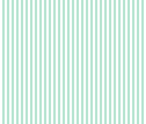 stripes vertical mint green fabric by misstiina on Spoonflower - custom fabric