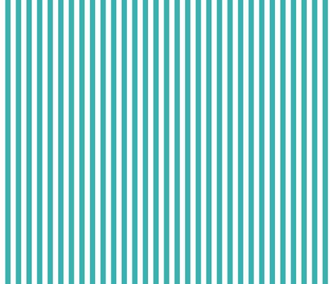 stripes vertical teal fabric by misstiina on Spoonflower - custom fabric