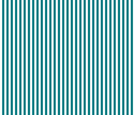 stripes vertical dark teal fabric by misstiina on Spoonflower - custom fabric