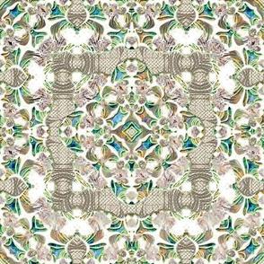 Iridescent Lacy Swirls 4