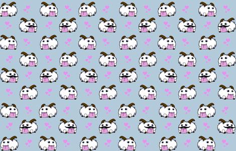 Pudgie Poros fabric by madebyaeo on Spoonflower - custom fabric