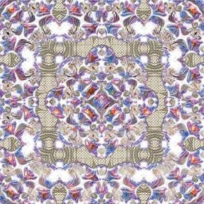 Iridescent Lacy Swirls 2