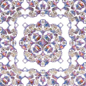 Iridescent Lacy Swirls 1