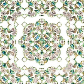 Iridescent Lacy Swirls 5