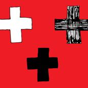 Cross my heart red