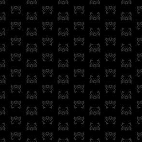 RadPandas Black Red Panda Tiles