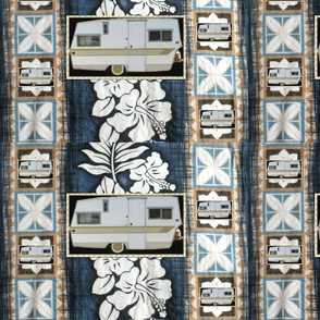 Vintage Tropical Trailer