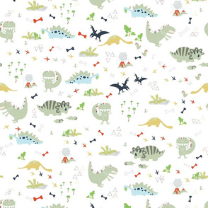 dinosaurs_fabric