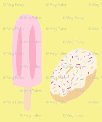 Popsicle donut