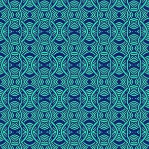 Serpentine Circles Aqua 2
