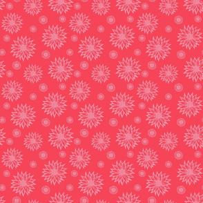 Pink Daisies (Coral)