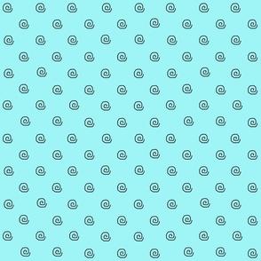 Mini Me Beach Aqua Dots