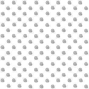 Mini Me White Dots