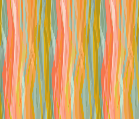 coral-stripes-1200 fabric by wren_leyland on Spoonflower - custom fabric