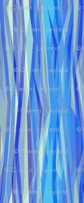 Cobalt Blue Stripes