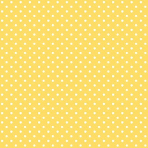Swiss Dots Buttercup Yellow