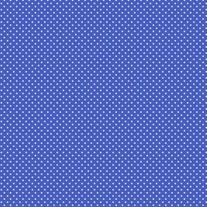 Swiss Dots Blue