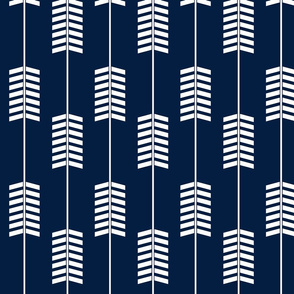 arrows // navy - Northern Lights Collection