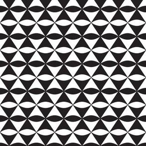Diamond Eye Black and White