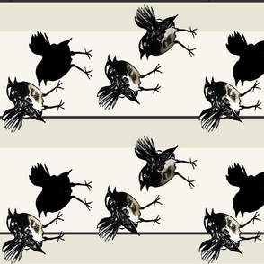 Willy wagtail tea towel/s by Su_G_©SuSchaefer