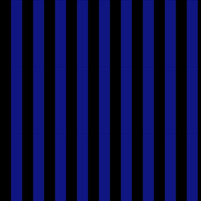 Black and Blue Striped Fabric