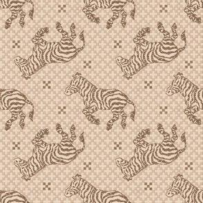 Zebra Charcoal Sepia~ Paris Bebe