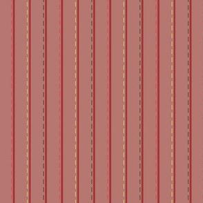 Joy_stitched stripe_red