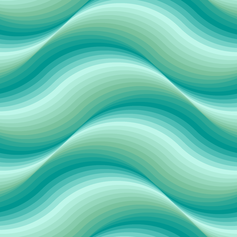 04214297 : billowing waves : surf fabric by sef on Spoonflower - custom fabric