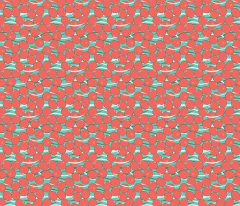 Cranberry Bog fabric by sarahmariemcg on Spoonflower - custom fabric