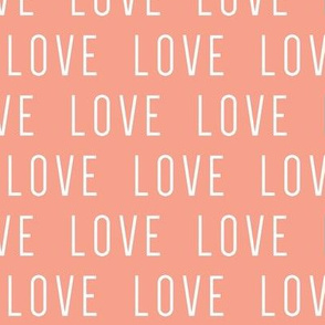 LOVE // Coral