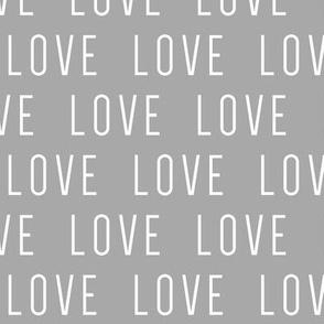 LOVE // Grey