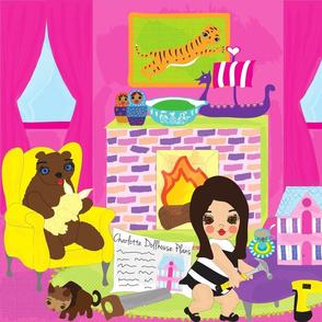 Build a Charlotte Dollhouse