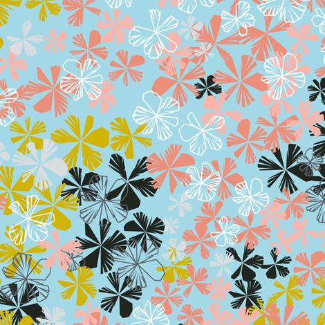 Maxiflora_Shirting fabric by elizabethhalpern on Spoonflower - custom fabric